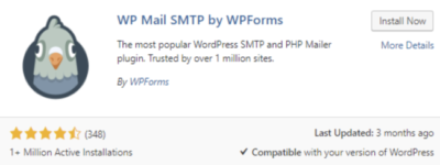 WP Mail SMTP plugin by WPForms