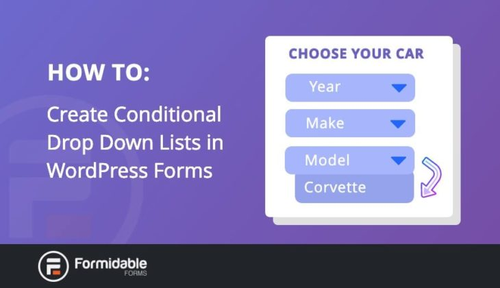 How to Create Conditional Drop Down Lists in WordPress Forms