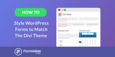 How to Style WordPress Forms to Match the Divi Theme