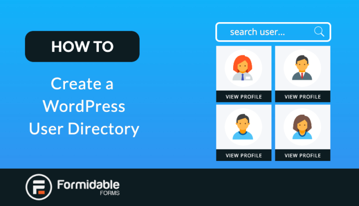 How to Create a WordPress User directory
