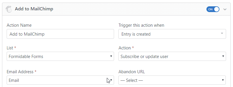 coming soon plugin mailchimp integration
