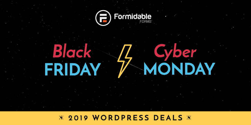 Black Friday Cyber Monday 2019 WordPress Deals