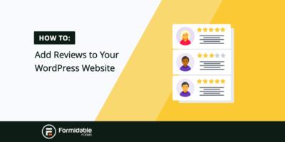 Add Reviews Wordpress Website