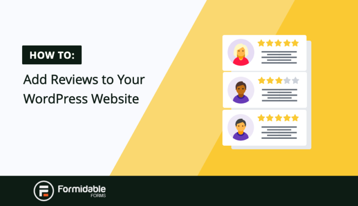 Add Reviews Wordpress Website