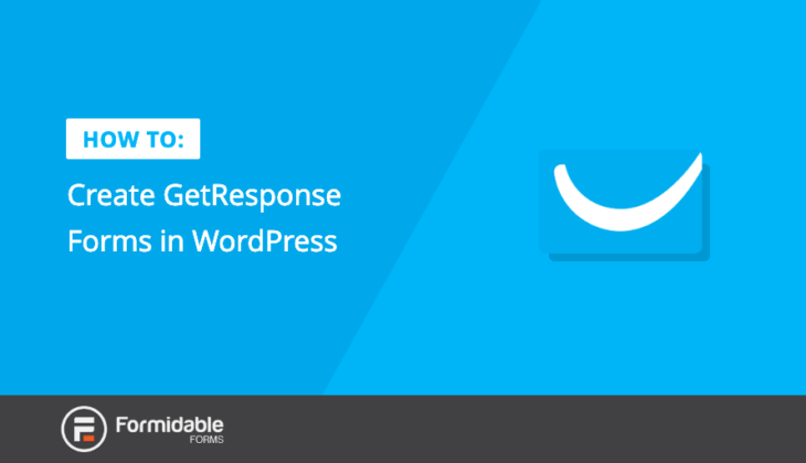 GetResponse Forms WordPress
