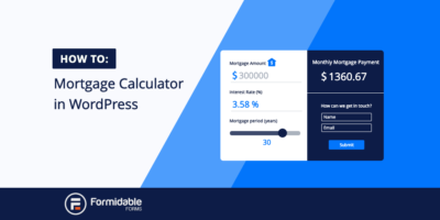 Mortgage Calculator WordPress