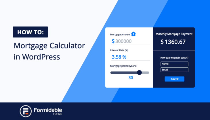 Mortgage Calculator WordPress