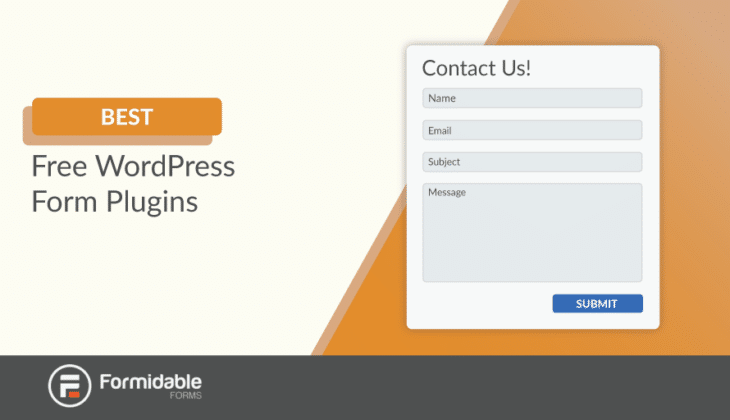 best free WordPress form builder plugins