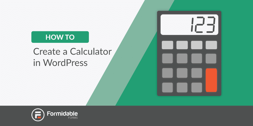 How to create a calculator in WordPress