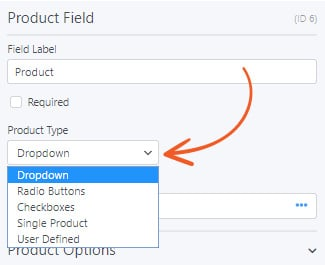 The new product field