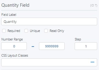 Quantity Field Options For Formidable Forms