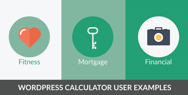 WordPress calculator user examples