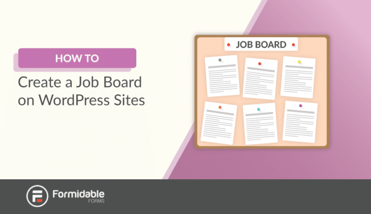 how to create a job board on WordPress-sites