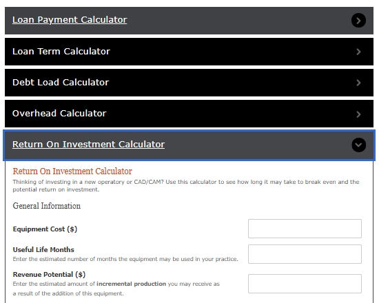 Investment calculator examples