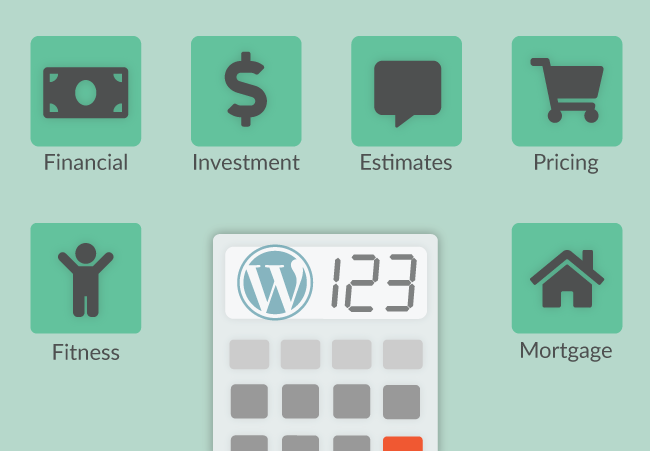Ways you can use calculators in WordPress