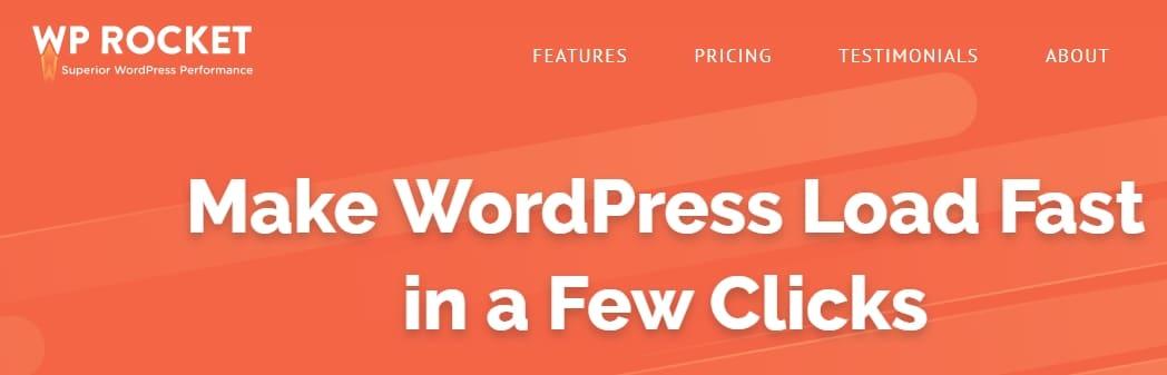 WP Rocket WordPress caching plugin