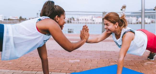 Build community with a fitness tracker
