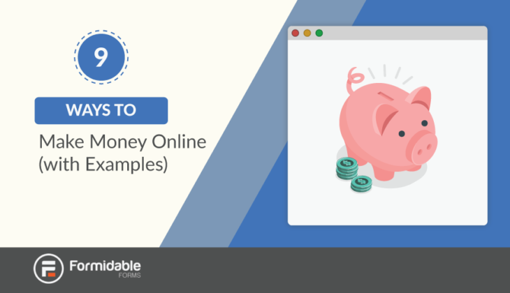 9 Ways to Make Money Online