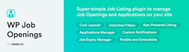WP Job Openings WordPress plugin