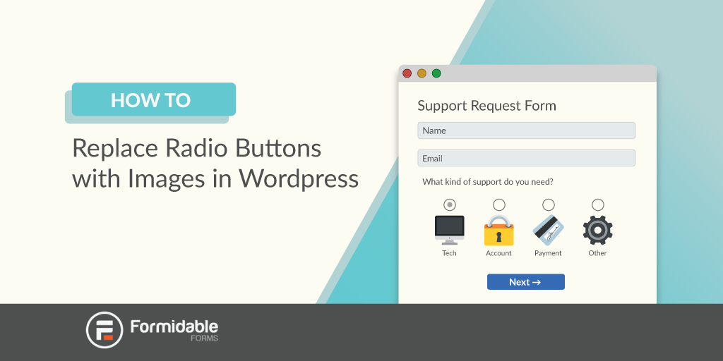 Replace Radio Buttons with Images in WordPress