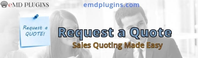 WordPress Request a Quote Plugin