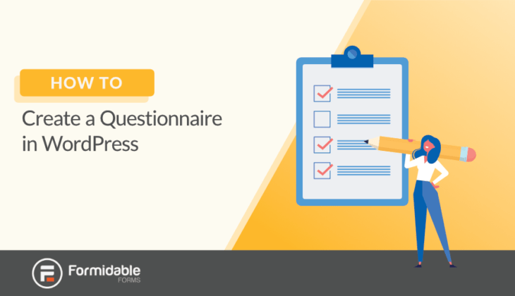 How to Create a Questionnaire in WordPress