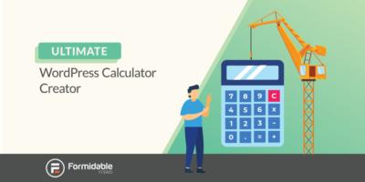 WordPress calculator creator