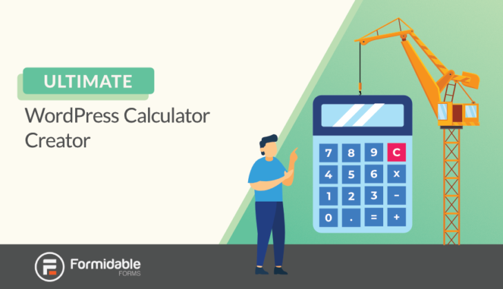 WordPress calculator creator
