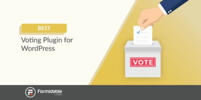 The best voting plugin for WordPress