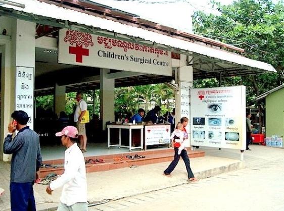 cambodian hospital