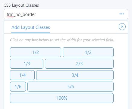 CSS layout classes box