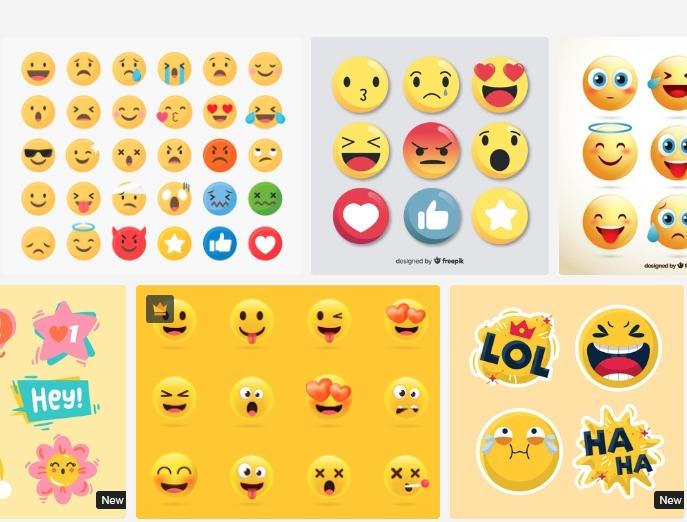 Download free emoji set