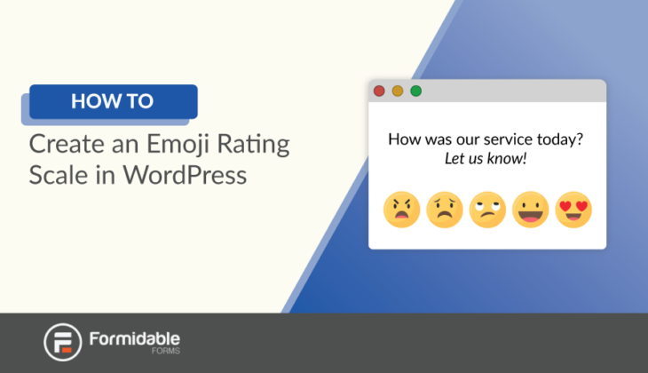 How to Create an Emoji Rating Scale in WordPress
