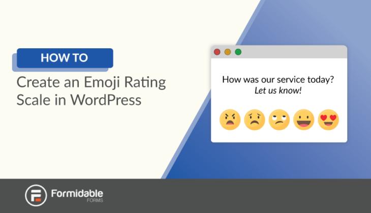 How to Create an Emoji Rating Scale in WordPress