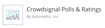 crowdsignal polls
