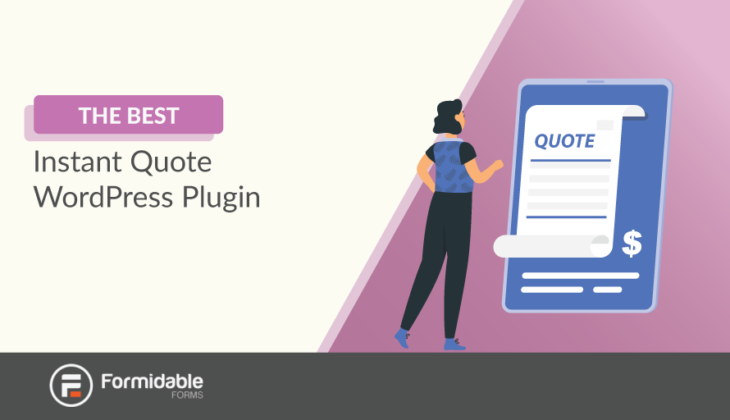 instant quote WordPress plugin