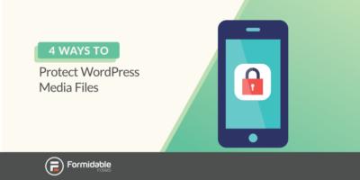 Protect WordPress media files