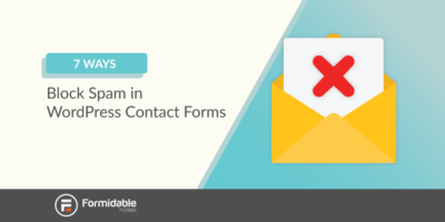How to block spam in WordPress contact forms