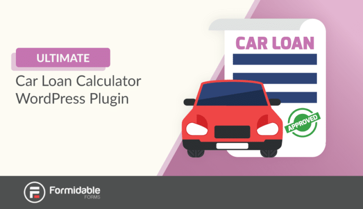 car loan calculator wordpress plugin