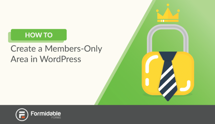 How to create a members only area in WordPress