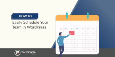 how to easily schedule your team in WordPress