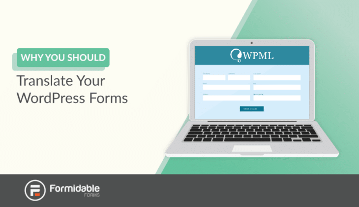 why you should translate WordPress forms