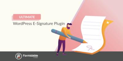 WordPress e-signature plugin