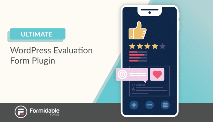 WordPress evaluation form plugin