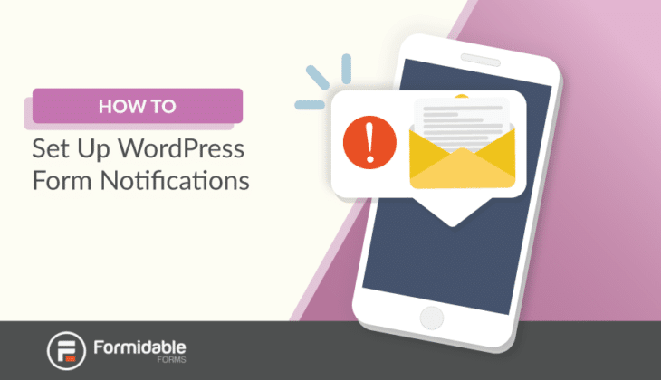 WordPress form notifications