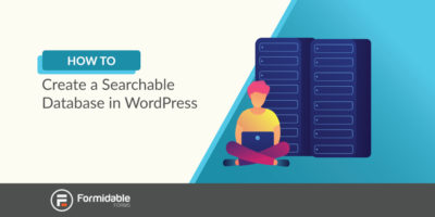 how to create a searchable database in WordPress
