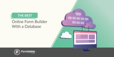 online form builder with database