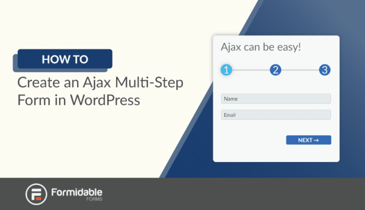 How to Create an Ajax Multi-Step Form in WordPress