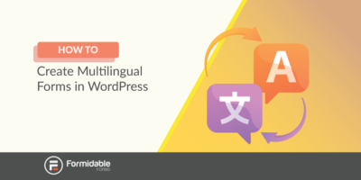 how to create multilingual forms in WordPress