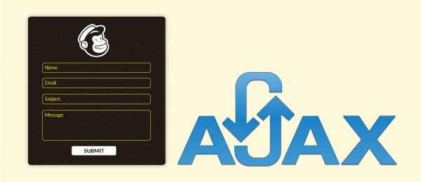 mailchimp ajax signup form wordpress